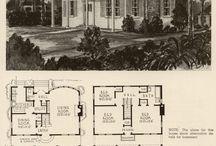 Vintage Home Plans / Just for nostalgic fun...