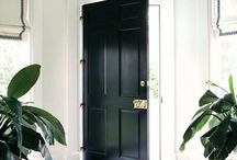 inspiration black trim, casing, doors
