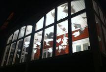Doves of peace / Installation Art, Peace, Doves. By Malin Sköld