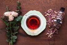 Thé, plantes, fleurs