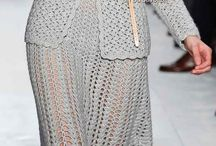 Костюм вязание