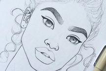 tumblr girls to draw