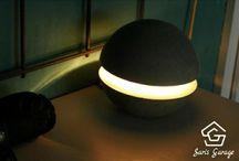 Concrete Lamp By Saris Garage – Build A Creative Concrete Lamp Yourself
