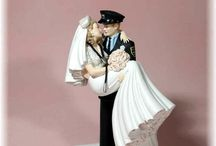 Medical Wedding Cake Toppers / Doctors, Nurses, EMTs - Combine with Fire, Police, and many more themed toppers!