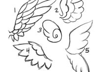 Caligrafia e desenhos