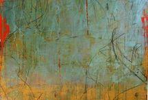 Art - Cold wax and Encaustic