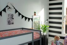 kids shared bedroom boy and girl ideas bunk bed