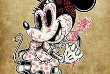 Disney sugar skull
