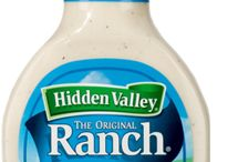Hidden Valley Products / Our dozens of products are made with wholesome ingredients and the perfect blend of herbs and spices. From the Original Ranch salad dressing beloved by millions to the zesty flavors found in everything from our vinaigrettes, dips and salad kits, you'll find nothing but the taste of simple goodness that made Hidden Valley famous all over the world. / by Hidden Valley