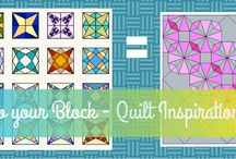 July 2014 Do your block - Modern Quilt Inspiration / Our First month of Quilt Inspirations - Priscilla Block, if you want to join in become a follower and we will add you to the board!