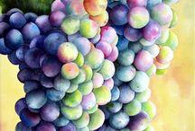 szőlő fürt