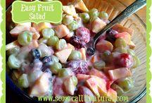 Salads / by Judy Stice