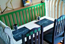 Options for dropside crib / Ideas for Andre's old crib / by Latahra Smith