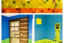 Minecrft Bedroom / Bedroom ideas with Minecraft decor