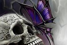 ☠SKULLS☠ / I Luv Skulls.... / by ДпїMaL FяёaК
