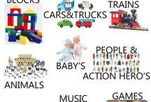 Toy Organization / by Jessica Dixon