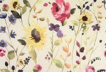 Floral Curtain Fabrics / Flowers and botanicals.... If it grows... It's here!  - Simply gorgeous drapery and upholstery fabrics.