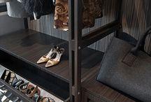 Wardrobe with shoes storage