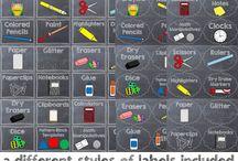 First Grade: Classroom Decor/Stuff