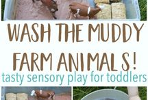 Messy play/sensory for work