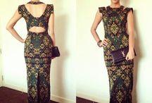 Endek dress