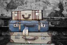 Koffers vol verhalen / Koffers fascineren mij. Dat wil zeggen: oude koffers. Wat zijn hun verhalen? Waar zijn zij geweest? Met wie en waarom?
