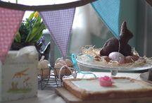Wielkanocny słodki bufet