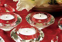 Wedding Decor Extras / Ribbon, Confetti, Charms, Petals, Faux Jewels, Decorative Rhinestones, Beads and Garland, Napkin Holders, Twine, Wax Seals.