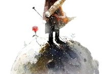 little prince /book illustration