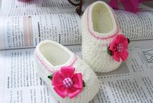 Crochet - Booties / by Patricia Forrest Cramer