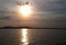 sunsets / views