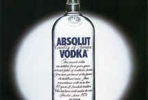 Absolut Iconic Bottles / Absolut Vodka's long-running ad campaign started in 1980, setting the precedent for the hundreds of bottle ads to come.  / by Absolut