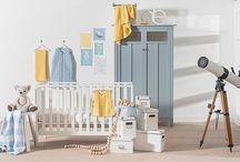 Babykamer trends en inspiratie / De nieuwste trends en inspirerende foto's om de babykleding mooi aan te kleden.