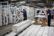 Manufacturing / We've been manufacturing Spectus profiles in the UK for over thirty years and are part of the Epwin Group, an independent British business with almost 40 years' experience in the manufacture and supply of low-maintenance building products.
