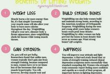 Health & Fitness - Weight Lifting / by Erica Howell