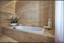 Bathroom / Contemporary, architectural bathrooms + showers. / by Marie Doucet