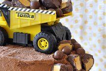 Dump truck/construction birthday party ideas