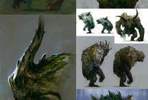 Concept. Animal, beast