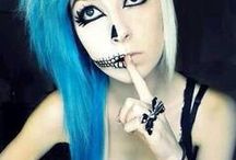Halloween makeup :-P