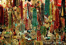 The Bead Bazaar / We love beads, especially so much beads together.