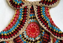 Háčkování a pletení / Vše co je vytvořeno háčkem a na jehlicích