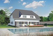 Hausideen / Wir stellen Ihnen Hausideen vor, die unsere Architekten für Bauherren geplant haben. Lassen Sie sich inspirieren!