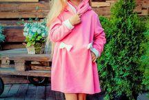 Одежда для любимых детишек)))) / Платье из флиса.