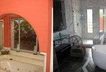 Bathroom Remodels Before and After / Amazing bathroom transformations from beginning to end!