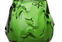 vihreä lasi