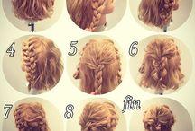 hair and arrange