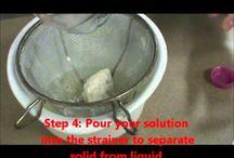 Milk Stone / How to turn milk into stone