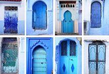 Pueblo azul - Marruecos