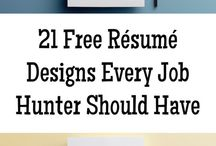 Resume Designs & Tips / How to make a Resume that stands out. #CV #Resume