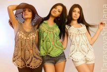 Batas em crochet